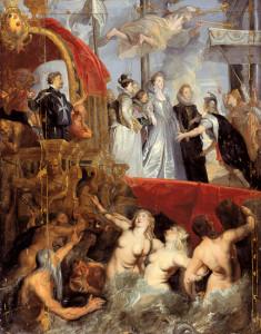 Rubens - Sbarco di Maria de' Medici a Marsiglia