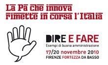 Dire e Fare 2010 - Firenze