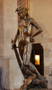 David di Donatello - Museo del Bargello Firenze