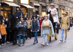 Cavalcata dei Magi a Firenze