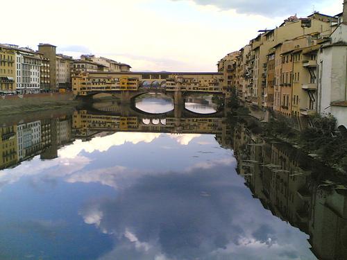 firenze in barca 2012 ponte vecchio