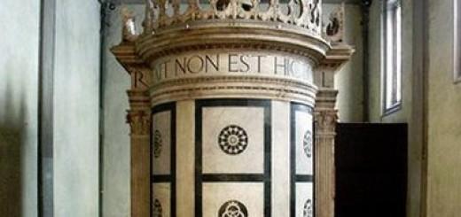 cappella rucellai tempietto leon battista alberti