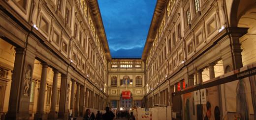 loggiato galleria uffizi