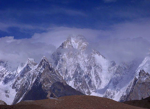 karakorum montagne e ghiacciai