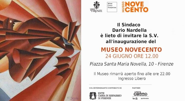 Invito Museo 900 Depero