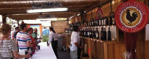 expo Chianti Classico padiglione degustazioni