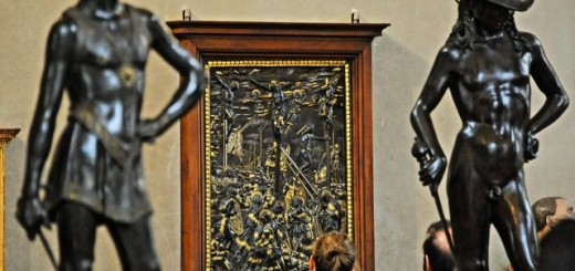 Florence: the 'Crocifissione' of Donatello restored