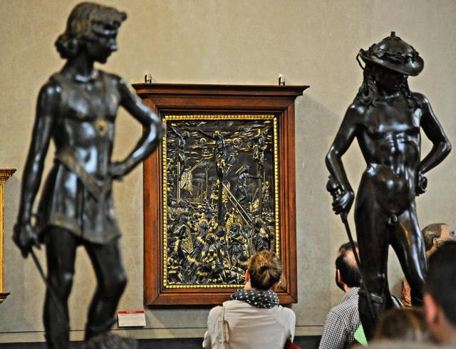 Florence: the 'Crocifissione' of Donatello restored
