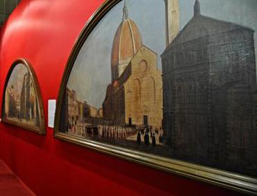 Arte: Palazzo Pitti; presentazione mostra  'Ritratti di paesi, mari e città'