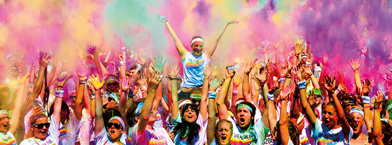 color run sf join the ud team - Poudre Color Run