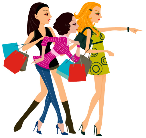 ragazze-con-buste-shopping-girls